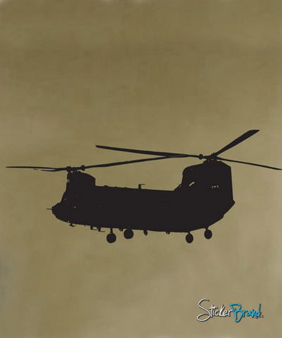 Vinyl Wall Decal Sticker Chinook Helicopter #580