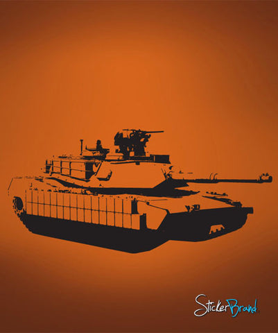 Vinyl Wall Decal Sticker Military Tank #581