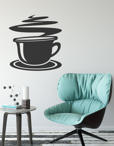 Espresso Frappauccino Coffee Breakfast Wall Decal Home Decor. #586