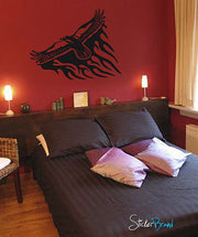 Vinyl Wall Decal Sticker Eagle Tribal #588