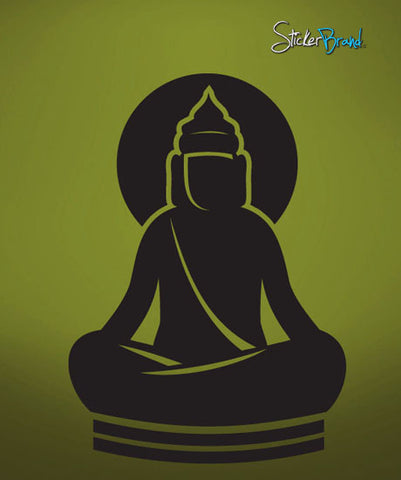 Vinyl Wall Decal Sticker Buddha Buddhism #593