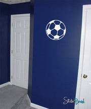 Vinyl Wall Decal Sticker Soccer Ball #595
