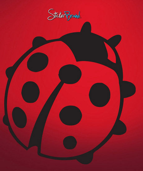Vinyl Wall Decal Sticker Lady Bug #596