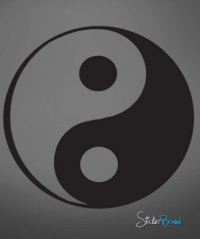Vinyl Wall Decal Sticker Yin Yang #597