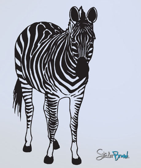 Vinyl Wall Decal Sticker Zebra #598