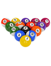 Billiard Balls Graphic Wall Decal Sticker set #6002