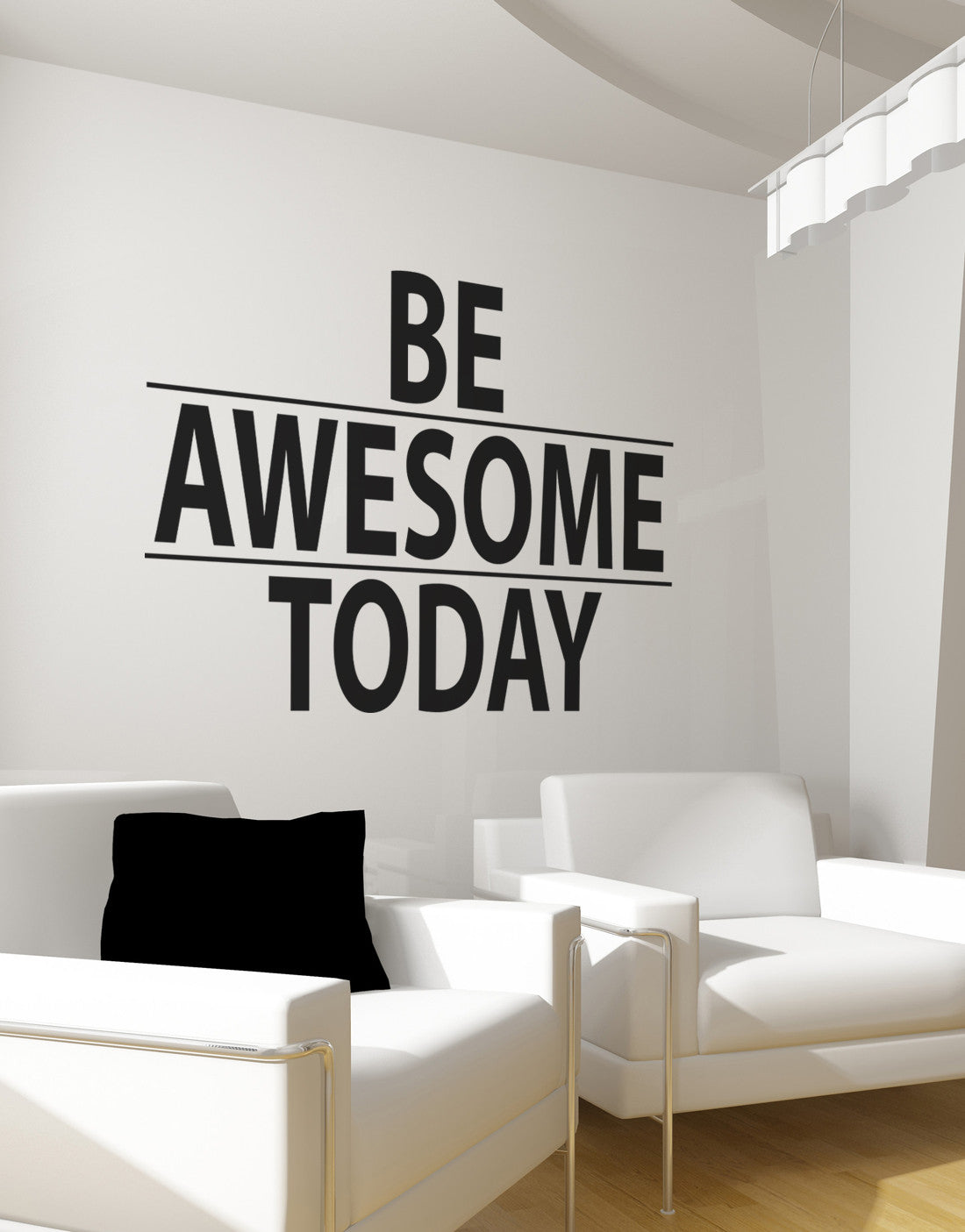 How to Put a Wall Sticker up