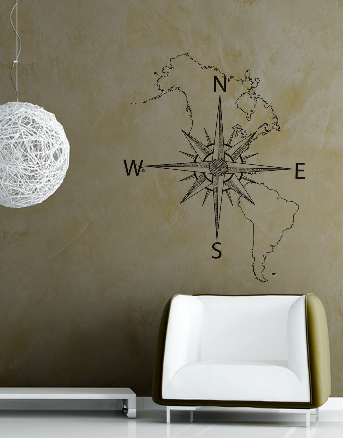 Nautical map of north south america w compass vinyl wall decal 601 nautical map of north south america w compass vinyl wall decal 6018 amipublicfo Images
