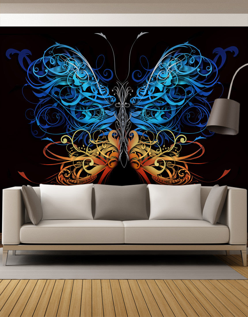 Peel and stick wall murals removable wall murals for Mural designs
