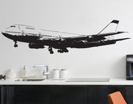 747 Airplane Vinyl Wall Decal Sticker #6031