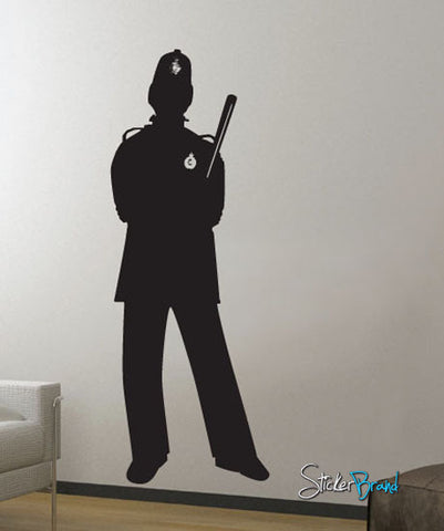 Vinyl Wall Decal Sticker UK London Police #603
