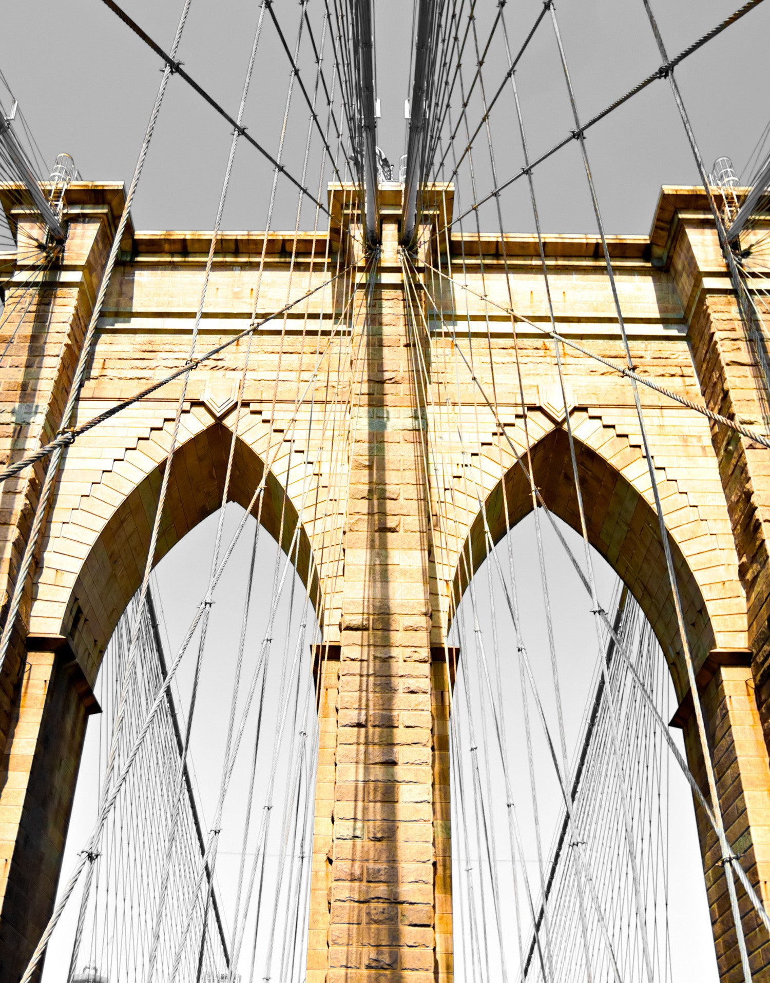 New York City Brooklyn Bridge Wall Mural 6042