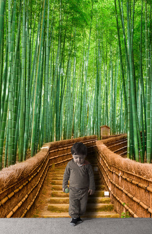 Bamboo Forest Wall Mural #6043