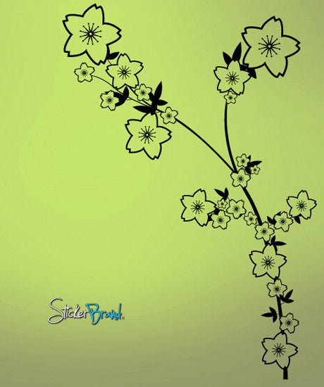 Vinyl Wall Decal Sticker Flower Arrangements #604