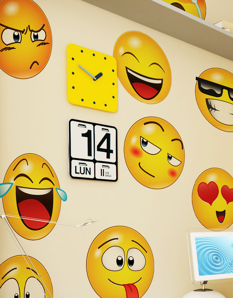 Emoji Wall Decals Emoji Stickers For Wall Stickerbrand