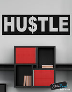 Hustle Motivational Quote Vinyl Wall Decal Sticker #6059