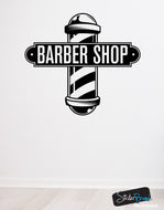 Barbershop Sign Vinyl Wall Decal Sticker #6065