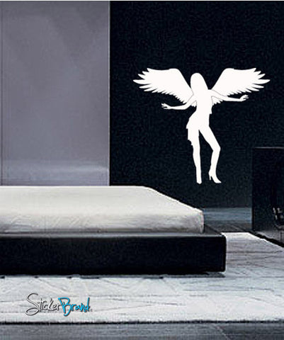 Vinyl Wall Decal Sticker Angel Girl #612