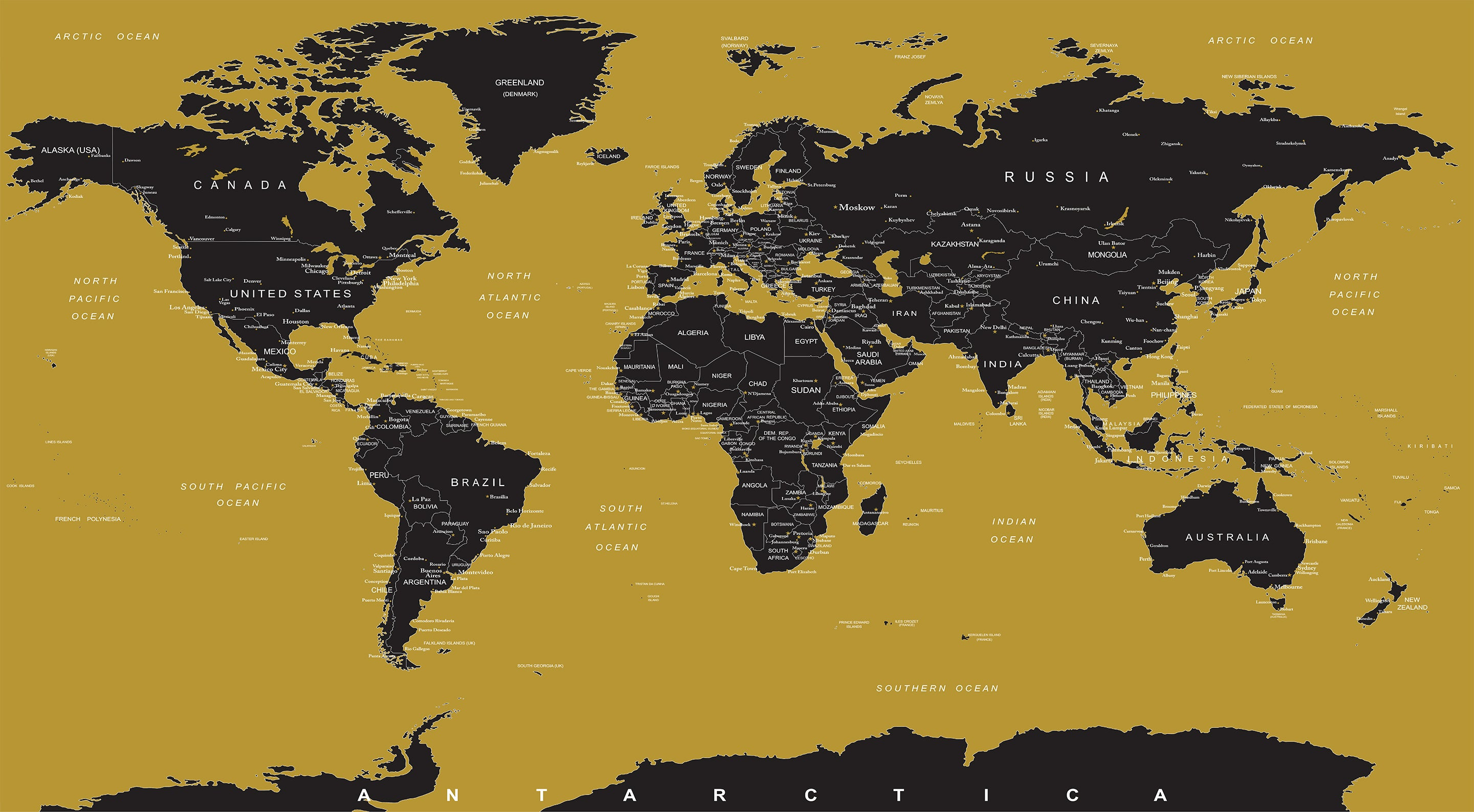 GOLD World Map Wall Mural. #6135 on usa debt map, usa fire map, usa coast map, usa halite map, usa red map, usa mountains map, usa area code list, usa statehood map, usa shadow map, usa grey map, usa neon map, usa land map, usa grid map, usa glaciers map, usa light map, usa blank map united states, usa map with cities and states detailed, usa copper map, usa white map, usa night map,
