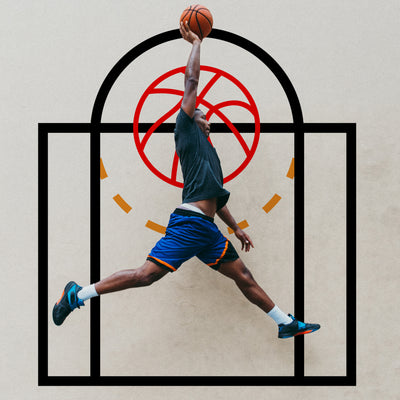 Basketball Free Throw Line Wall Decal. #6240