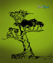 Vinyl Wall Decal Sticker Chinese Tree #625
