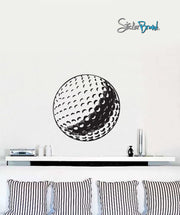 Vinyl Wall Decal Sticker Golfball #651