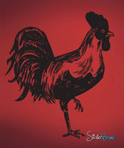 Vinyl Wall Decal Sticker Rooster #655