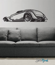 Vinyl Wall Decal Sticker Hot Rod #665