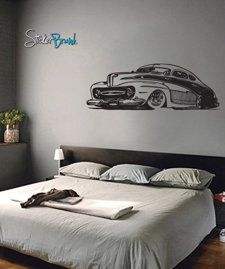 Vinyl Wall Decal Sticker Classic Hot Rod #666