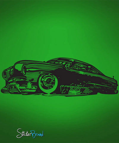 Vinyl Wall Decal Sticker Gangsta Hot Rod #667