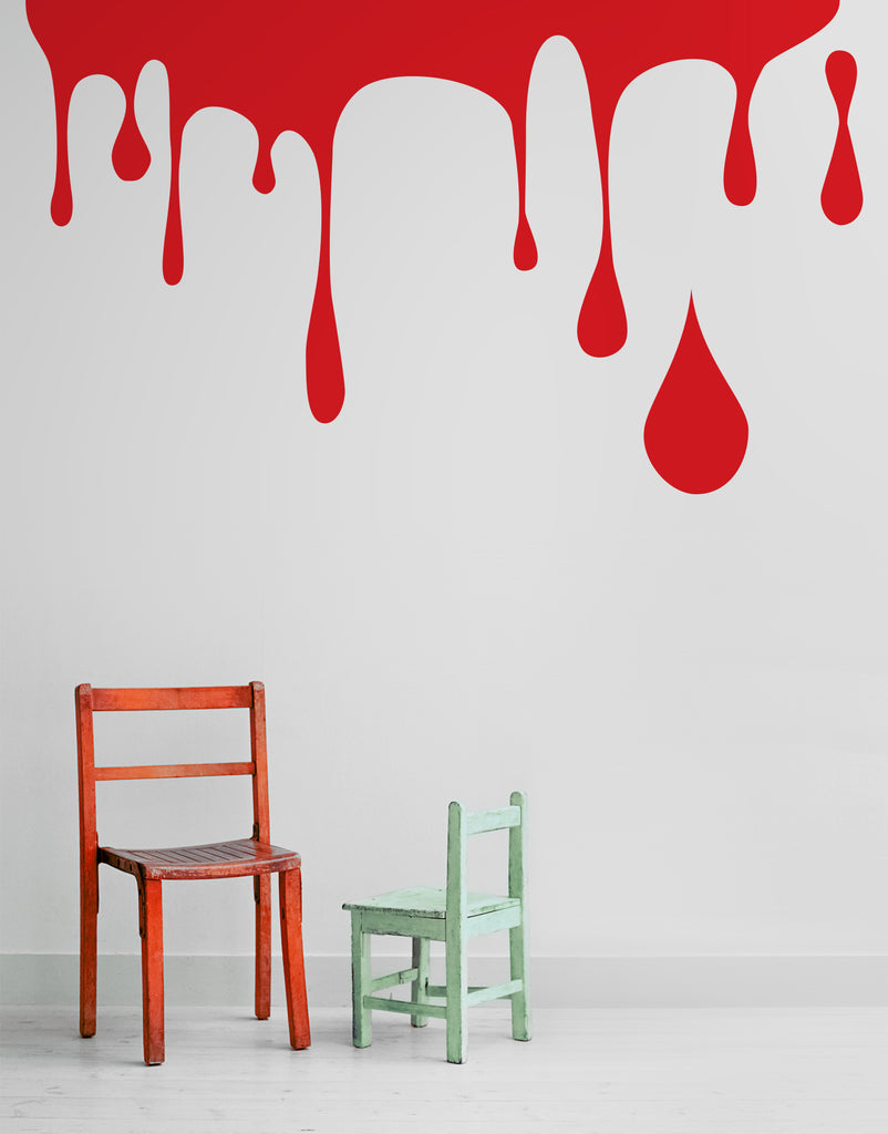 Paint Dripping Wall Decal Perfect For Kid S Room 695