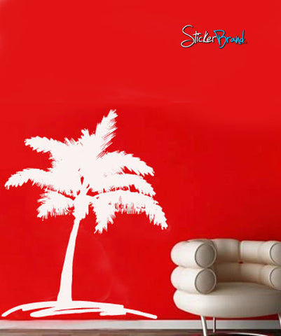 Vinyl Wall Decal Sticker Palm Tree Drawing #698