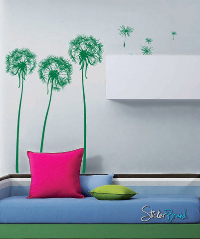 VinylWall Decal Sticker Dandelions #699