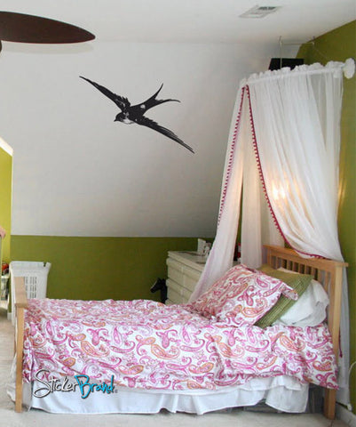 Vinyl Wall Decal Sticker Sparrow #701