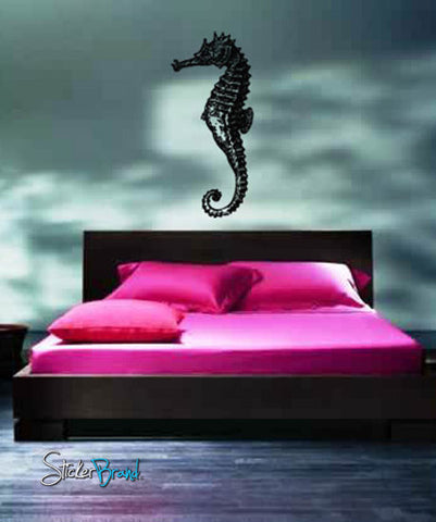Vinyl Wall Decal Sticker Seahorse #702