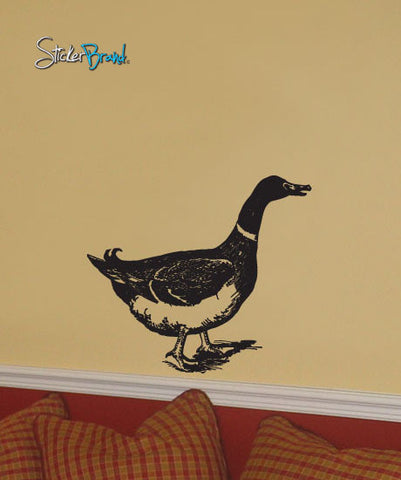 Vinyl Wall Decal Sticker Duck #704