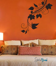 Vinyl Wall Decal Sticker Autumn Leaves Hanging #720