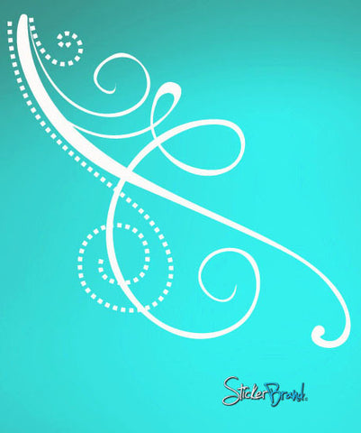 Vinyl Wall Decal Sticker Swirl Pattern #721