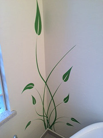 Tall Grass Vinyl Wall Decal Sticker. #729