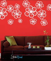 Vinyl Wall Decal Sticker Flower Petals Set #735