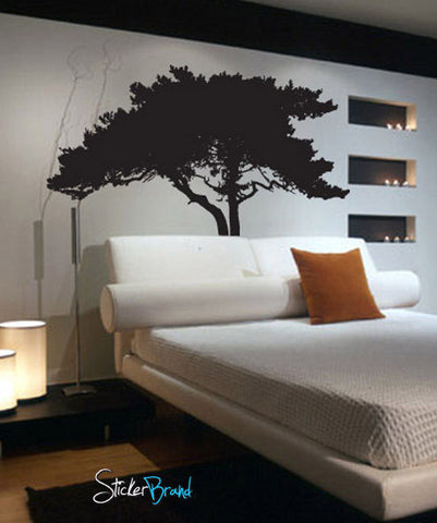 Vinyl Wall Decal Sticker Tree Shade #736