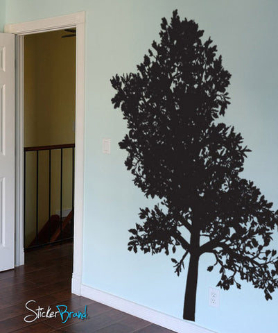 Vinyl Wall Decal Sticker Tall Tree #746