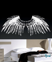 Vinyl Wall Decal Sticker Large Angel Wings #758