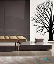 Vinyl Wall Decal Sticker Round Bare Tree #761