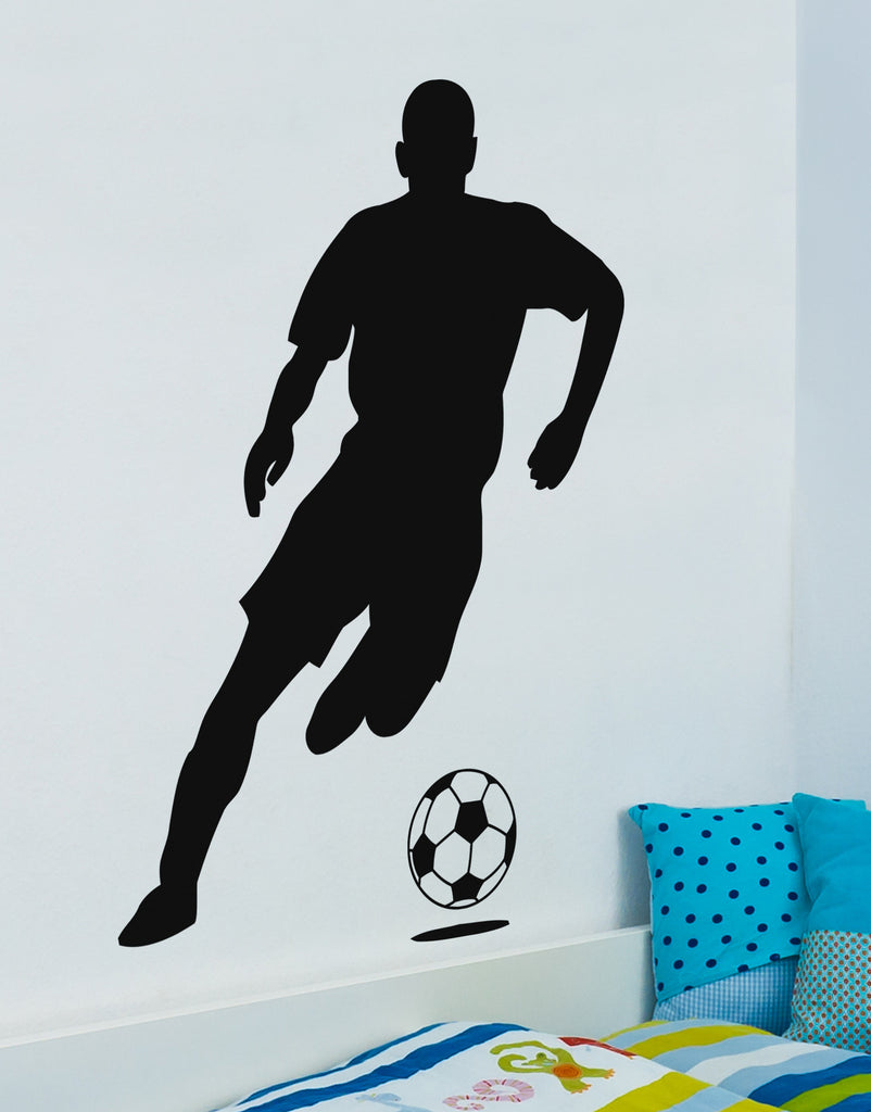 Vinyl Wall Decal Soccer Player 770