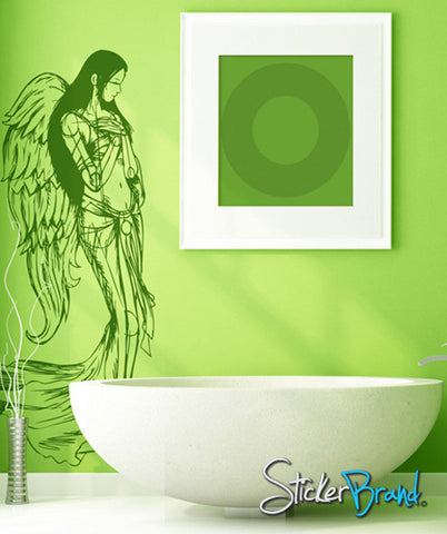 Vinyl Wall Decal Sticker Beautiful Angel Wings #774