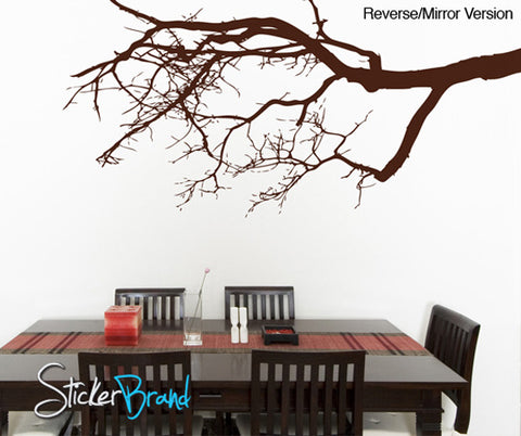 Vinyl Wall Decal Sticker Tree Top Branches #780