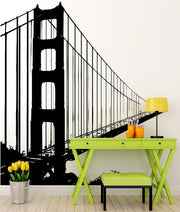 San Francisco Golden Gate Bridge Wall Decal. #782