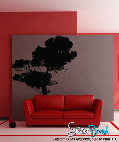 Vinyl Wall Art Decal Sticker Tree #856