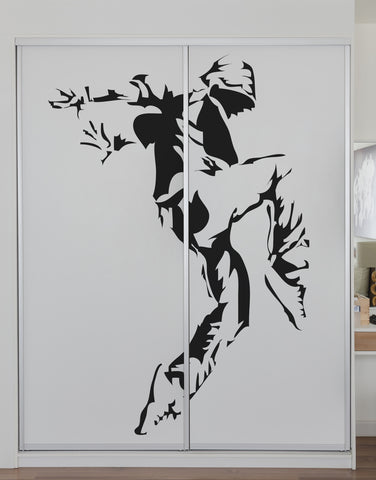 Hip Hop Dancer Vinyl Wall Sticker Decal #AC119